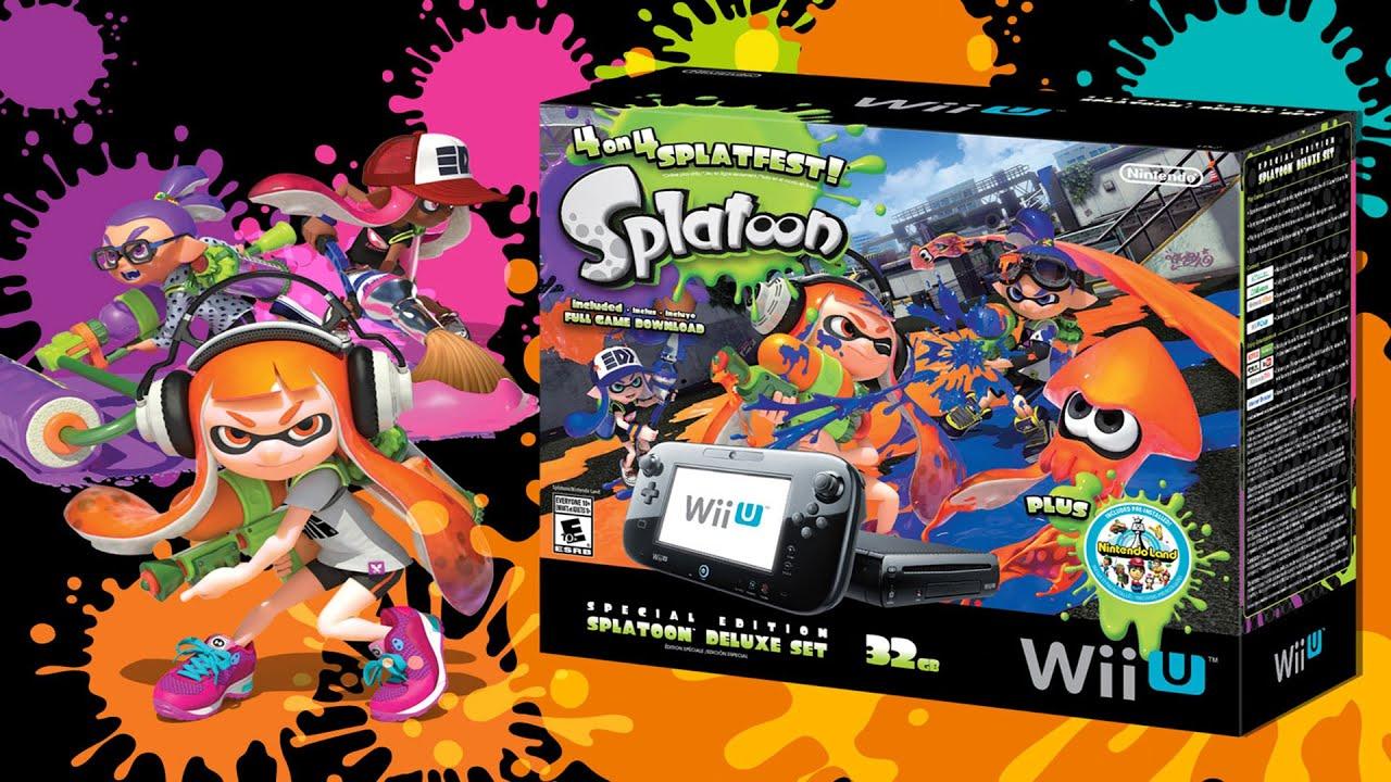 Splatoon For Nintendo Wii U | Toronto Teacher Mom  |Splatoon Wii