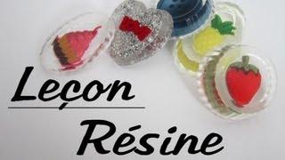 Leçon - Utilisation de la résine
