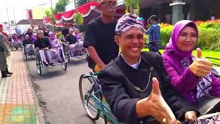Naik Becak - Lagu Anak Ceria | Pawai Becak | Pedicab Parade