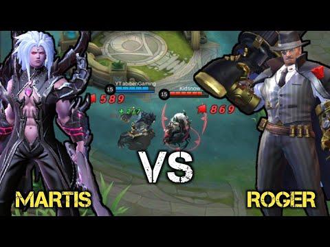 MARTIS vs ROGER  MOBILE LEGENDS