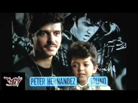 Bruno Mars As Elvis Transmissions (4 Years Old)