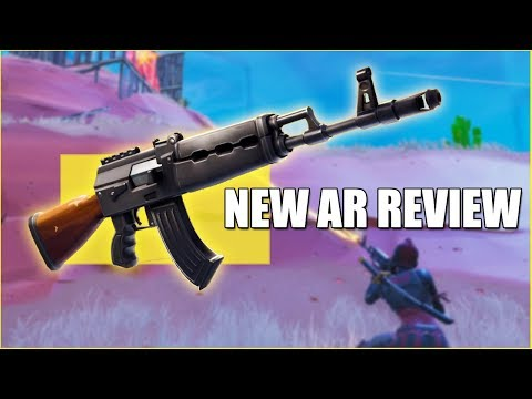 NEW HEAVY AR* FIRST LOOK   Fortnite Update 6.22