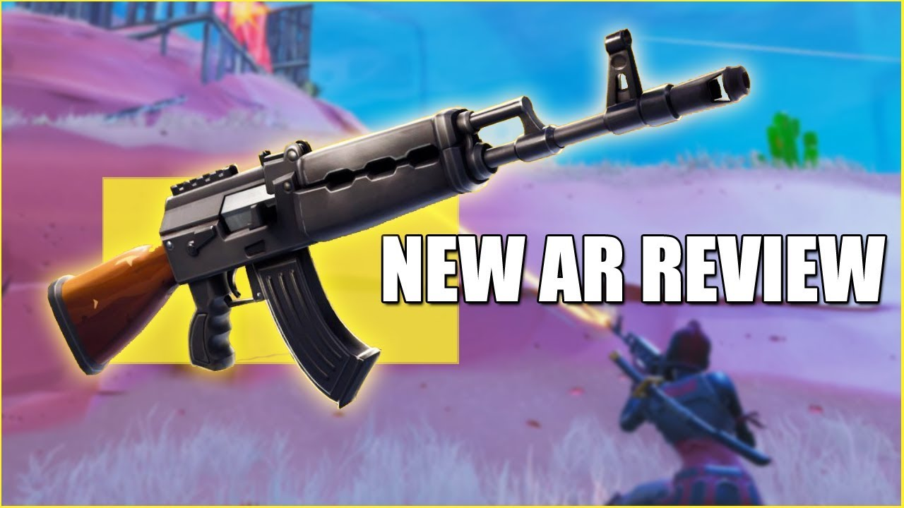 new heavy ar first look fortnite update 6 22 - heavy ar fortnite stats