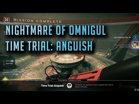 Destiny: 2: Nightmare of Omnigul, Time Trial: Anguish (980 Master Difficulty)
