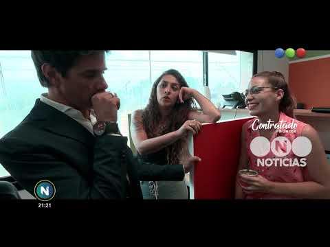 Contratado por un día: call center - Telefe Noticias
