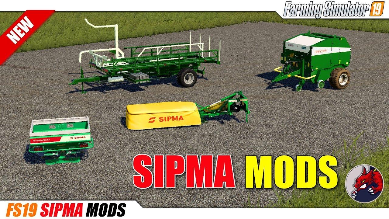 FS19 | SIPMA Mods - review