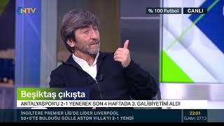 Rıdvan Dilmen: Ljajic ve Umut'tan sol açık falan olmaz (% 100 Futbol Antalyaspor-Beşiktaş)