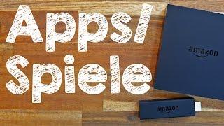 Amazon Fire TV Apps + Spiele installieren und löschen, Tutorial auf Deutsch