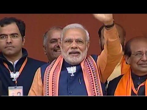 Election fever: PM Modi's speech at Dwarka rally in Delhi