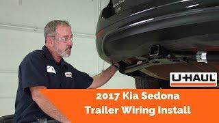 2017 kia sedona trailer wiring install - youtube  youtube