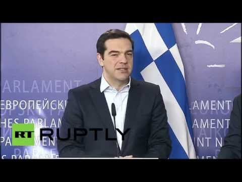 Belgium: 'There Is No Greek Problem, There Is A European Problem' - Tsipras