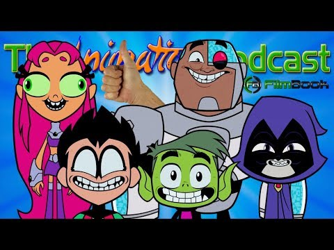 TEEN TITANS GO! TO THE MOVIES Teaser Trailer Reaction - The Animation Podcast HIGHLIGHTS