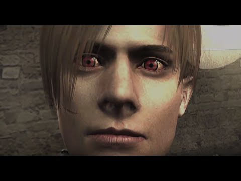 Resident Evil 4 Infected Leon Attacks Ada Hd Youtube