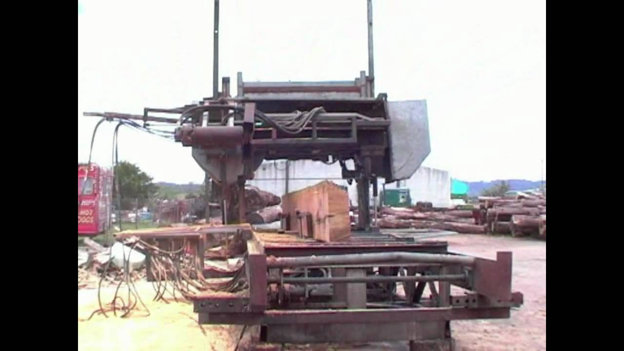 Saw Mill For Sale >> Band Sawmill - For Sale - mobile diesel hydraulic sawmill ...
