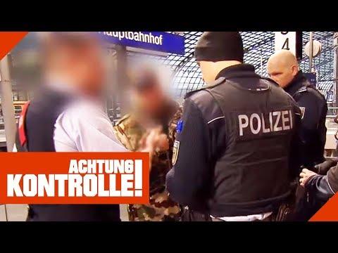 Bis zu 1000€ Strafe! Schwarzfahrer zeigt falschen Ausweis!   Achtung Kontrolle   Kabel Eins