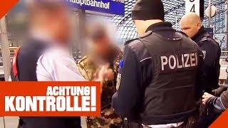 Bis zu 1000€ Strafe! Schwarzfahrer zeigt falschen Ausweis! | Achtung Kontrolle | Kabel Eins