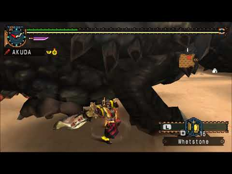 【MHP2G】Hunting God's【Great Sword】26:44 Remaining