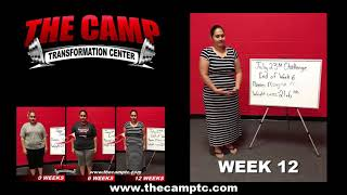 South Fort Worth TX Weight Loss Fitness 12 Week Challenge Results - Mayra M.