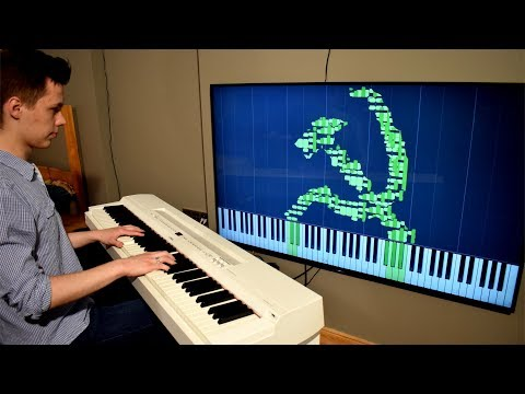 In SOVIET RUSSIA Piano Tutorial PLAYS AFTER YOU!