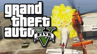 gta 5 online multiplayer funny gameplay moments 8 gta v fun with jets helicopters and more