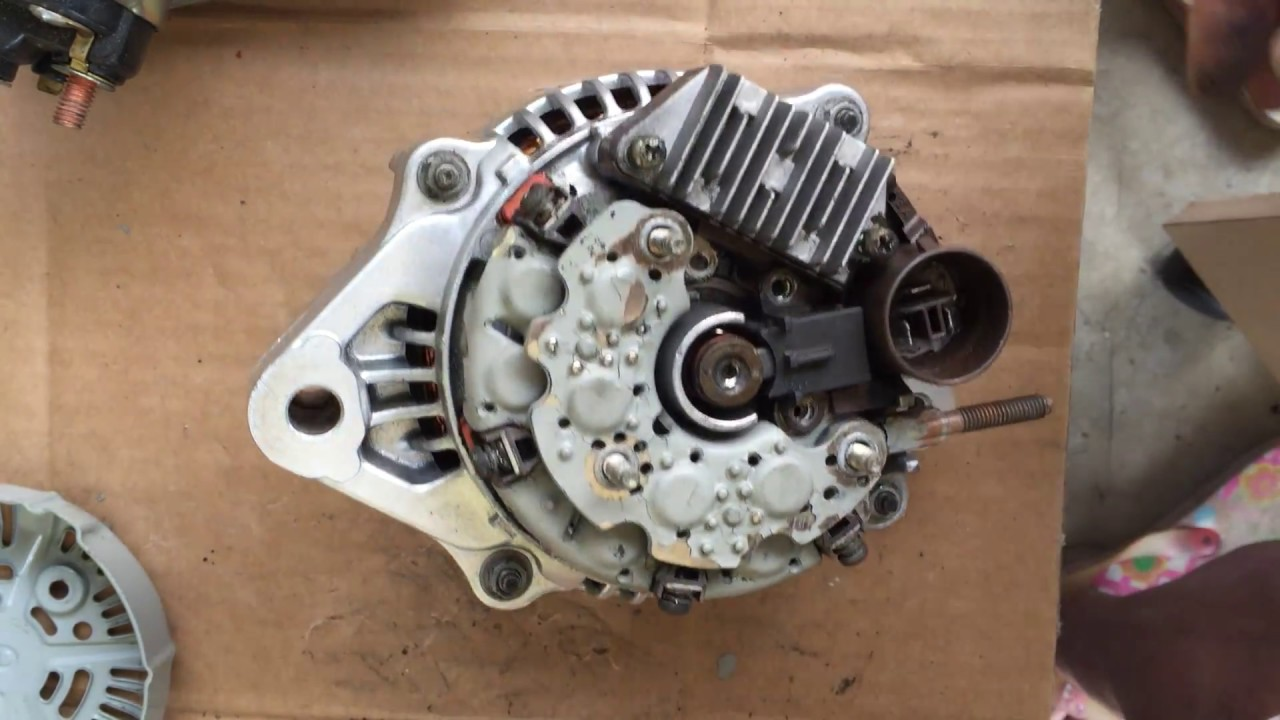 How To Repair Rebuild Alternator Toyota Pickup Truck
