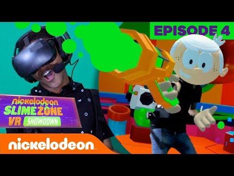 Slimezone VR Showdown BTS ???? ft. SpongeBob, The Loud House & More! | Ep. 4 | Nick