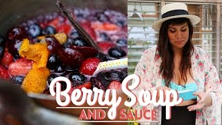 The Perfect Berry Soup And Sauce- Summer Special Dessert