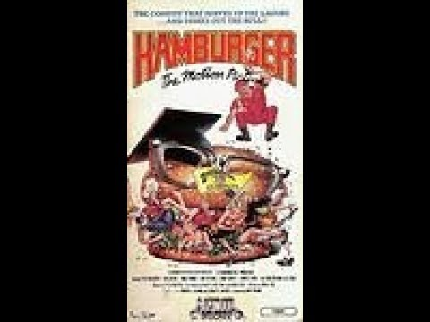 Hamburger The Motion Picture (Full 1986 Media Home Entertainment VHS)
