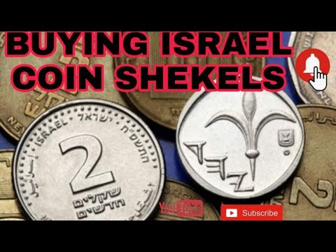 BUYING - ISRAELI SHEKELS COIN