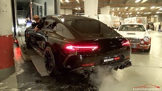 BRABUS 800 GT63S AMG and BRABUS Shadow 800 G63 AMG - Leaving Top Marques Monaco 2019