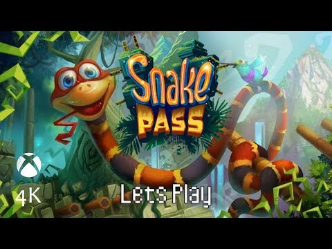 Part 1, Let's Play Snake Pass (4k | Xbox One X)