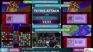 Tetris Attack by Darkwing Duck, FFR Pro 21, Edobean, & CardsOfTheHeart in 10:10 - SGDQ2016 -Part 95