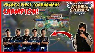 DD Infinity Champion! Pinataob ni Yasue ang SGD Finesse! - Mobile Legends