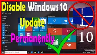 How To Disable Windows 10 Update Permanently - HowToHack
