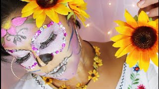 Dia de los muertos | la catrina | tutorial | Day of the dead makeup
