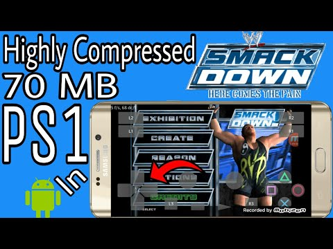 70 MB) WWE Smackdown Here Comes the Pain Highly Compressed Mod ...