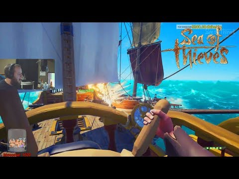 Epic Pirate Ship Battle! #1 Ranked Captain! Sea Of Thieves!
