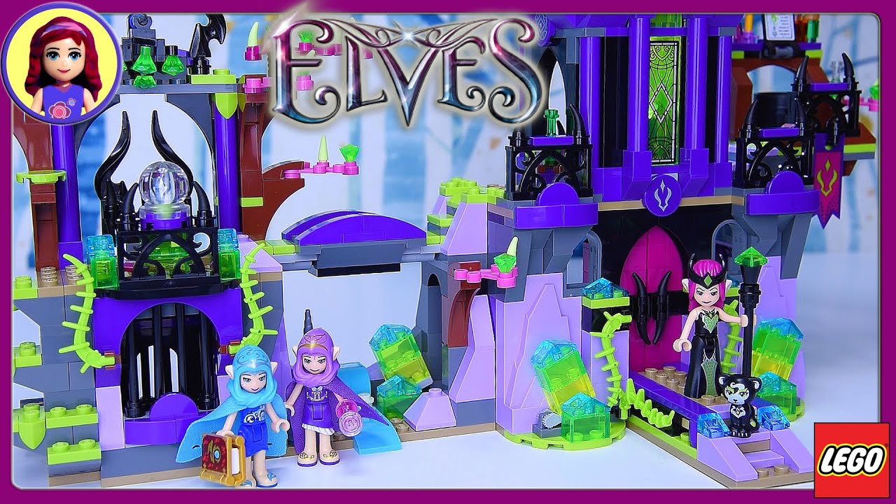 raganas magic shadow castle lego elves part 2 build review silly play kids toys youtube - Purple Castle 2016