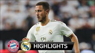 Eden Hazard Debut For Real Madrid (vs Bayern Munich)