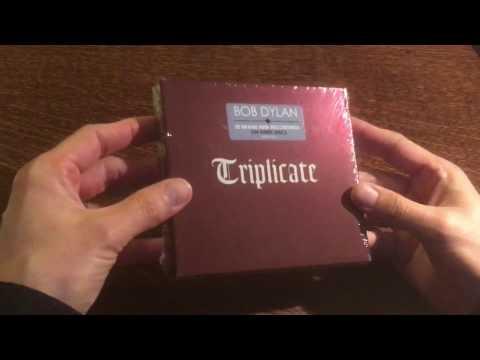 UNBOXING Bob Dylan - Triplicate (2017)