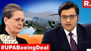 Congress Caught In Boeing Scam? | The Debate With Arnab Goswami