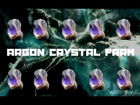 How to Farm Argon Crystals