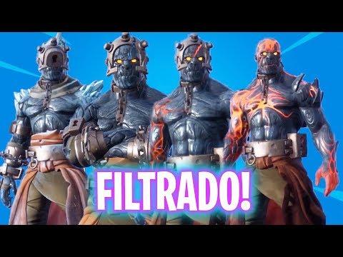 EL REY DE FUEGO *FILTRADO*! Fortnite Battle Royale - Luzu