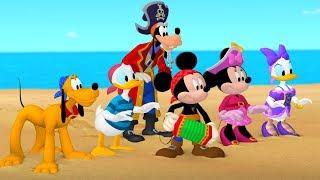 Клуб Микки Мауса -Пиратские приключения. Часть 1 - Мультфильм Disney Узнавайка | Сезон 5, Серия 3