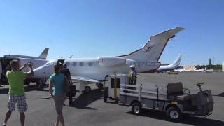 Flying JetSuite from Las Vegas to Orange County