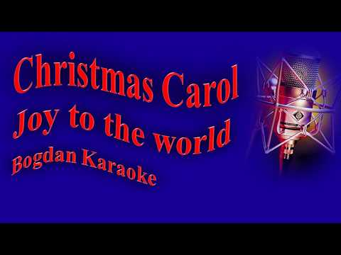 Christmas Carol Karaoke version - Joy to the world
