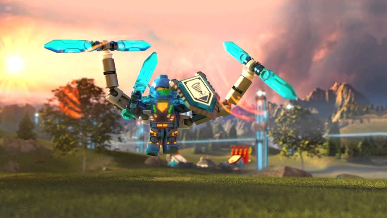 Lego 174 Nexo Knights Clay Ultimate Vs Maestro De Las