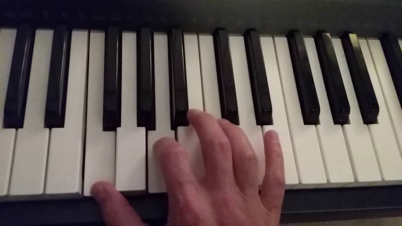 How to play an f major 7 chord on piano youtube how to play an f major 7 chord on piano hexwebz Images