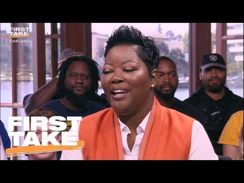 Kevin Durant's Mom Has Some Words For Stephen A. Smith | First Take | June 4, 2017