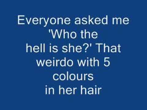 McFly - Five Colours in her hair - lyrics